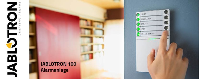 -JABLOTRON 100 Alarmsystem