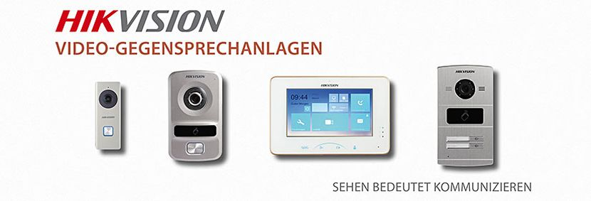 -HIKVISION Video-Gegensprechanlagen