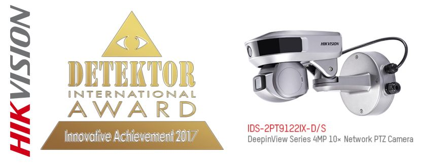 -Hikvision gewinnt den Detektor International Award