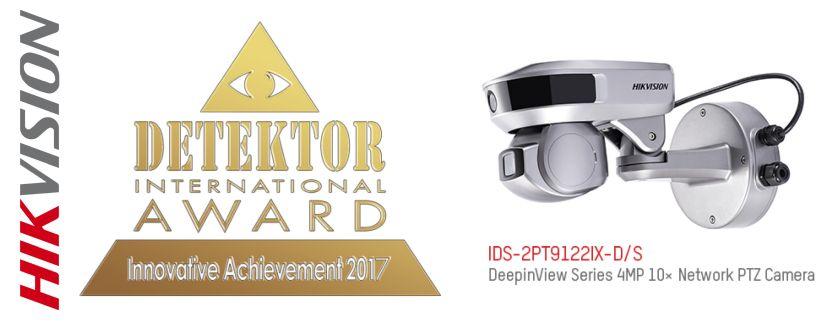 -Hikvision gewinnt den Detektor International Award