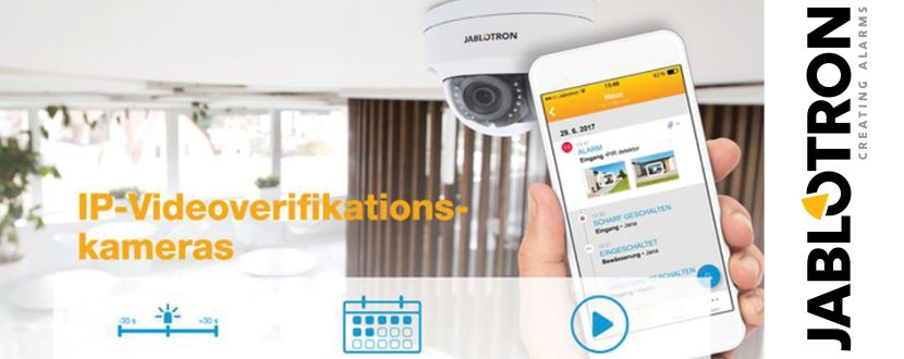 -JABLOTRON 100 IP-Videoverifikationskameras