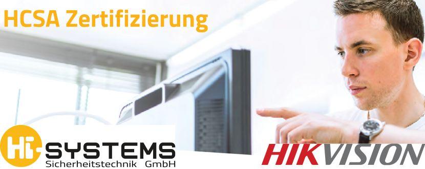 -HIKVISION HCSA Zertifizierung