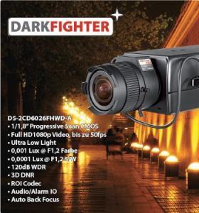 Darkfighter - hochempfindliche 2 MP IP-Kameras, bestens geeignet zur Außenüberwachnung-