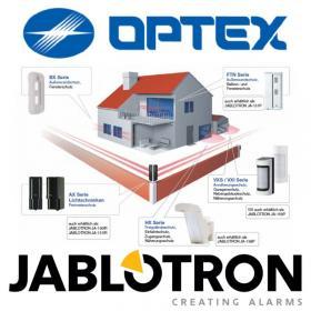 Erkennung als Basis des Sicherheitssystems-OPTEX und JABLOTRON
