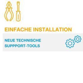 Einfache Installation-